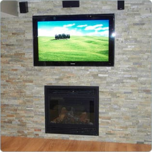 """""""With stone wall tile remodeling you can easily redecorate your home!"""""""